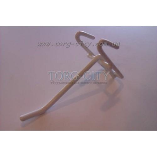 Крючки  м/пластик  10 см. прут-5.3 мм на сетку, Китай