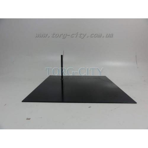 Подставка под манекен  ,металлическая,черная 40x40 см