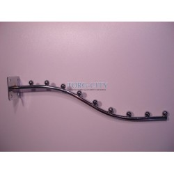 Флейта  9 шаров  волна  стена  , хромированная Китай