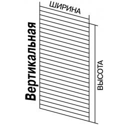 Экономпанель Вертикальная, выс.- 240 см, дл.-100