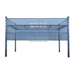 Распродажная корзина 145х55х90 металлик (под заказ)