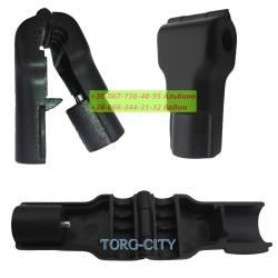 Стоп-Лок для гачків 6 и 4 мм  чорний ,червоний  упаковка 100 шт