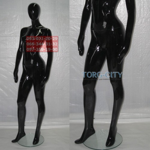 Манекен  WLG-2 , черный ,серебро