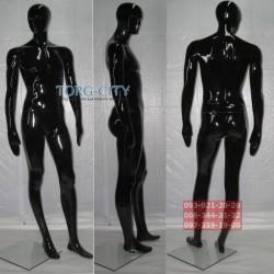манекен   Мужской Фотосессия MLG-2   черный,серый- металлик,красный