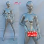 манекен  Женский VE-2 или CW-5 ,серый металлик