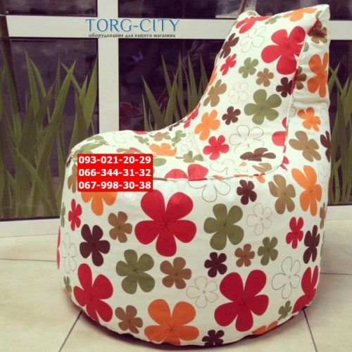 Кресло мешок №35 ткань, 70х75 см ,ткань