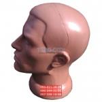 манекен Голова  Мужская   d-51см , пластик