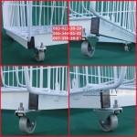 Подставка под овощные корзины  на 4 колесах ( под заказ)