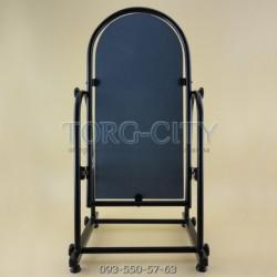 Зеркало торговое Черное,в коробке