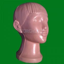манекен   Голова  Подросток    пластик d-52