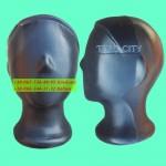 Голова подросток,  черный аватар , только опт 30 шт