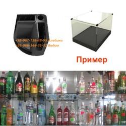 Соединение пластиковое на 3 стекла, толщина 5 мм