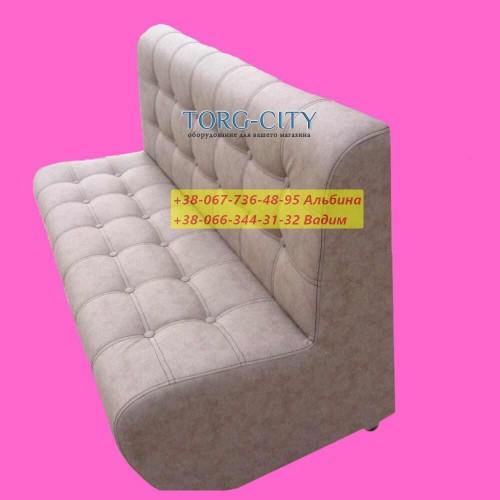 Диван весь прошит + 24 пуговици, 100х65х70 см,  глубина сидения 45 см