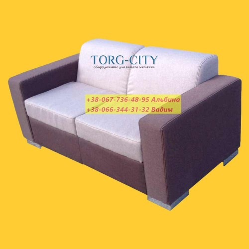 Диван 150х65х70 см,  глубина сидения 45 см, мебельная ткань+дорогие ножки