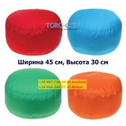 Бескаркасный пуф S-ка, № 1 детское,  45х30 см  (под заказ 7-10 дней)