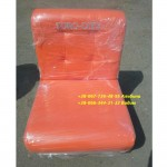 Пуф диван одинарный 50х50х80 см,с прошивкой, кожзам