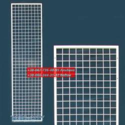 Стойка сетка 200х50 см_без ног_в профиле 15х15 мм_прут 2.5 мм