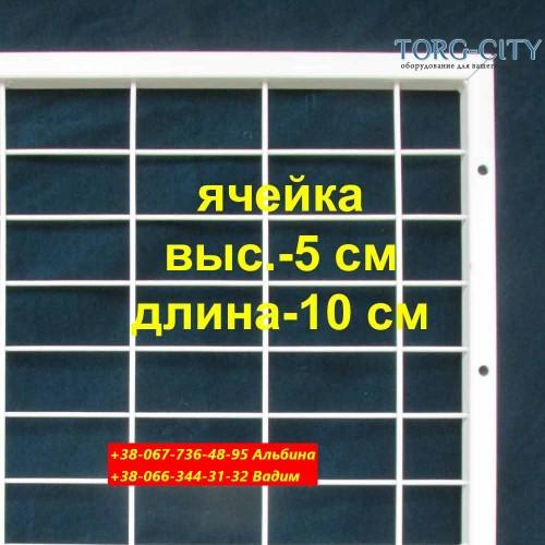 Стойка сетка 200х120 см_без ног_в профиле 20х20 мм_прут 3.5-4 мм