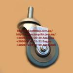 Колесо с резьбой   штифт 10 мм.,металлическое, прочное