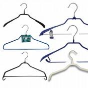 Плечики железные в силиконе для одежды