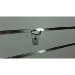 Крючки для эконом панелей 5 см хром, d-5.7 мм