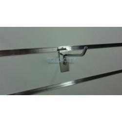 Крючки для эконом панелей 10 см хром, d-5.7 мм