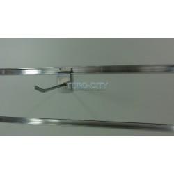Крючки для эконом панелей 10 см хром, d-4 мм