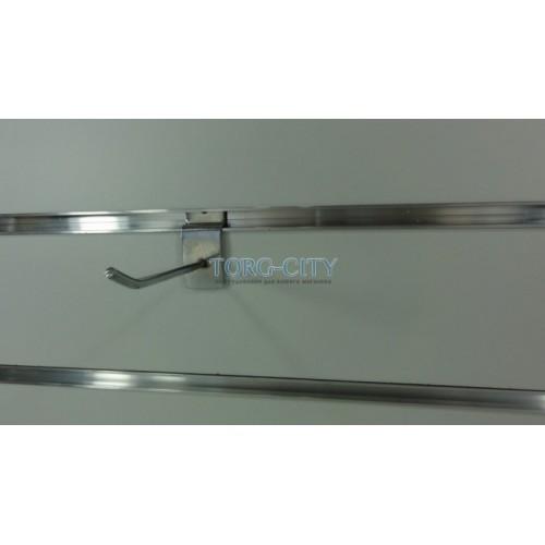 Крючок 10 см, э\панель, d-4 мм, хромированный Китай