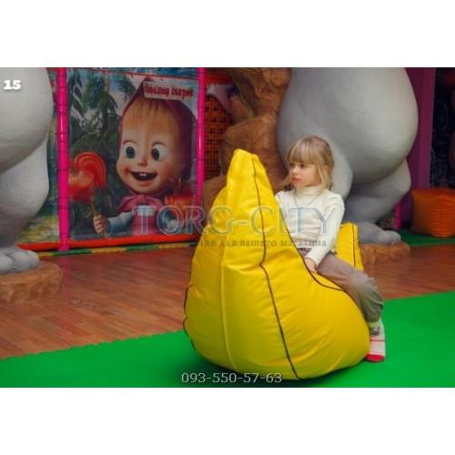 Кресло банан детское №29 кожзам 120х40 см  (под заказ 7-10 дней)