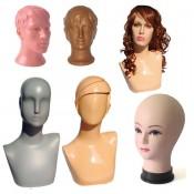 Манекен Голова для головных уборов и париков